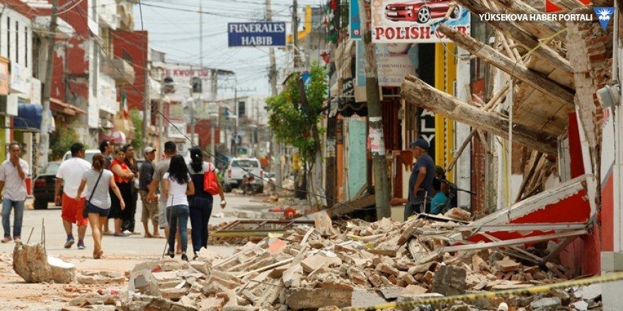 Meksika'daki deprem en az 58 can aldı