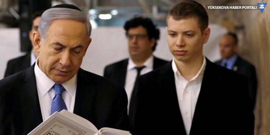 Neo-Naziler Netanyahu'nun oğlunu 'beğendi'