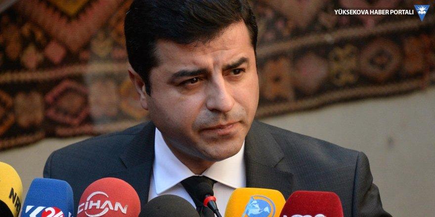 Demirtaş'tan yeni soruşturmaya tepki: Alın size reform