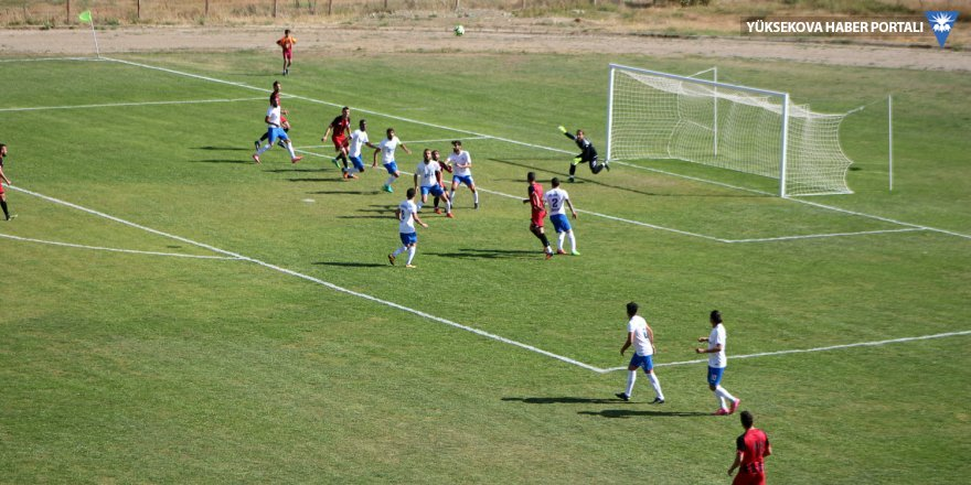 Yüksekova Belediyespor - Tatvan Gençlerbirliği Spor: 3-0