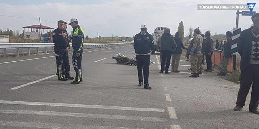 Iğdır'da Trafik kazası; 1 ölü 1 yaralı