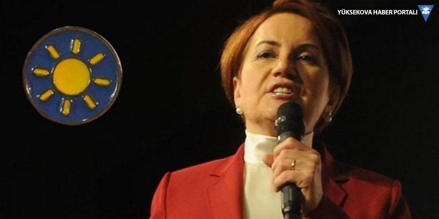 Meral Akşener: Demirtaş'ın kampanyasını bizlerle eşit koşullarda yapmasını isterim