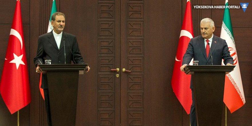 Başbakan Yıldırım, İran Cumhurbaşkanı Yardımcısı ile görüştü