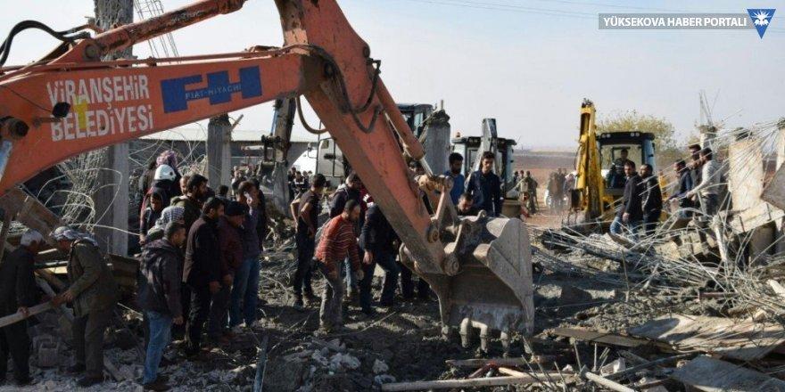 Viranşehir'de inşaat çöktü: 6 yaralı