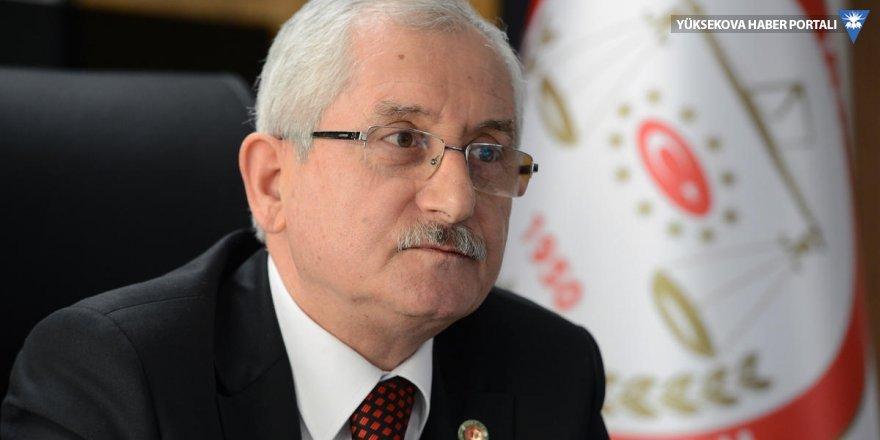 YSK Başkanı Güven: Her dosya için bilgi veremem