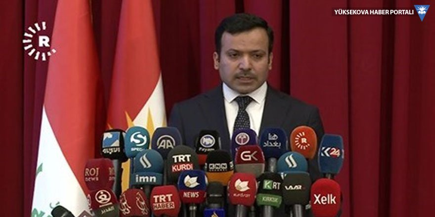 Kürdistan parlamentosu başkanı resmen istifa etti