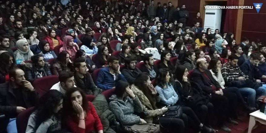 Yüksekova'da öğrencilere motivasyon semineri