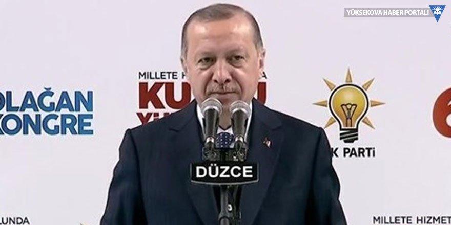 Erdoğan: Hayırdır, bir anda bu iştiyak, bu hız, bu tepkisellik nereden çıktı?