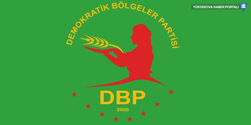 DBP il başkanı tutuklandı