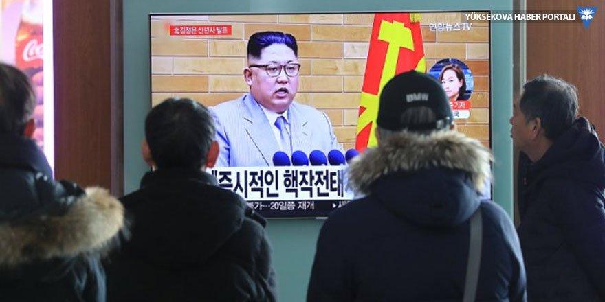 Kim'den yeni yıl mesajı: ABD'nin tamamı menzilimde, nükleer düğme masamda!
