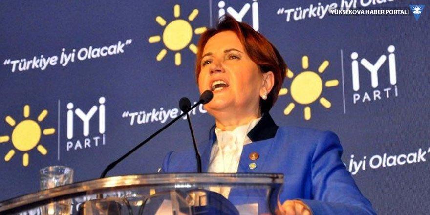 Akşener: Tokat ve Konya'da silahlı eğitim kampları bulunduğunu duyuyoruz