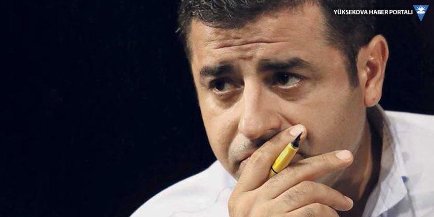 Demirtaş: Tüm Cumhurbaşkanı adaylarına Filistin için miting çağrısı yapıyorum