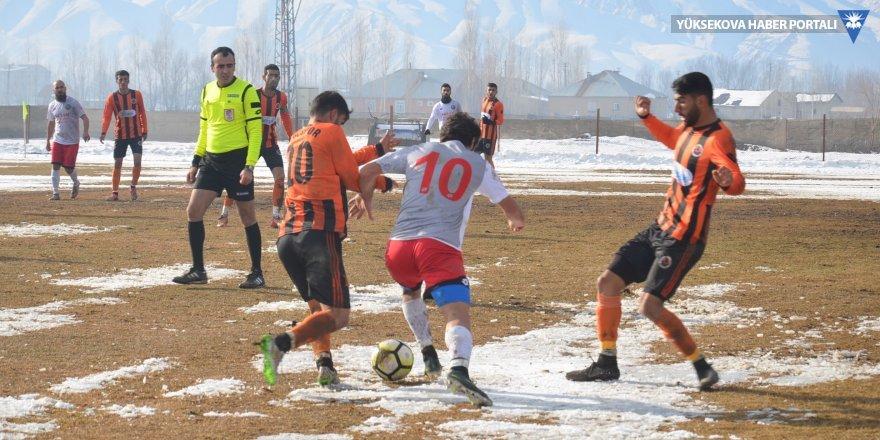 Yüksekova Belediyespor: 1 - Diyarbakır: 1