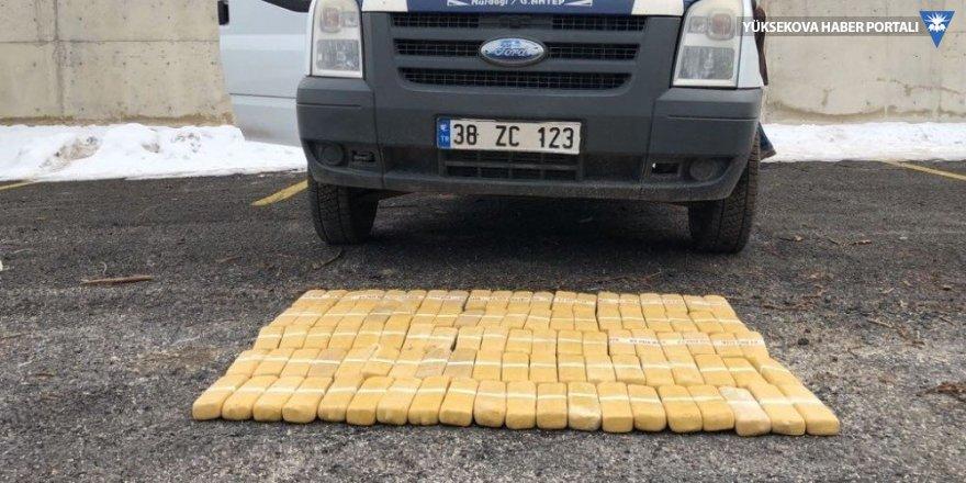 Van'da 51 kilo eroin yakalandı