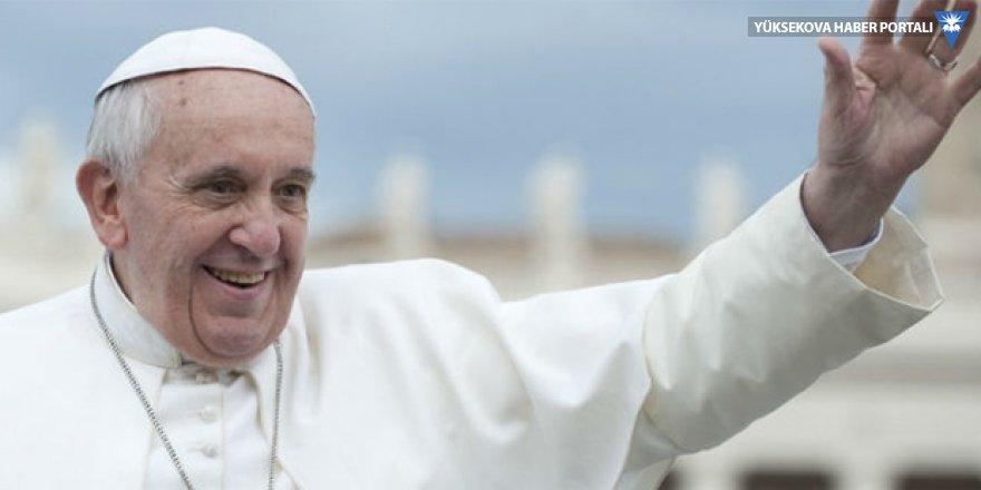 Papa'dan Barzani'ye teşekkür
