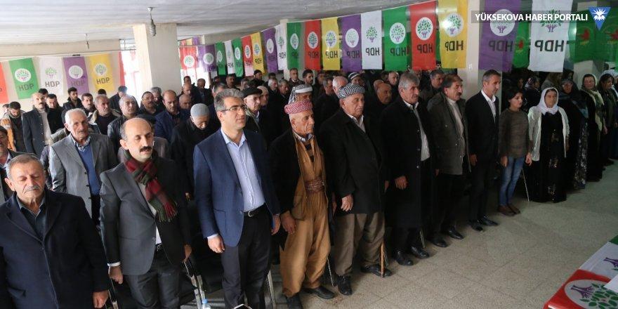 HDP Yüksekova ilçe kongresi yapıldı