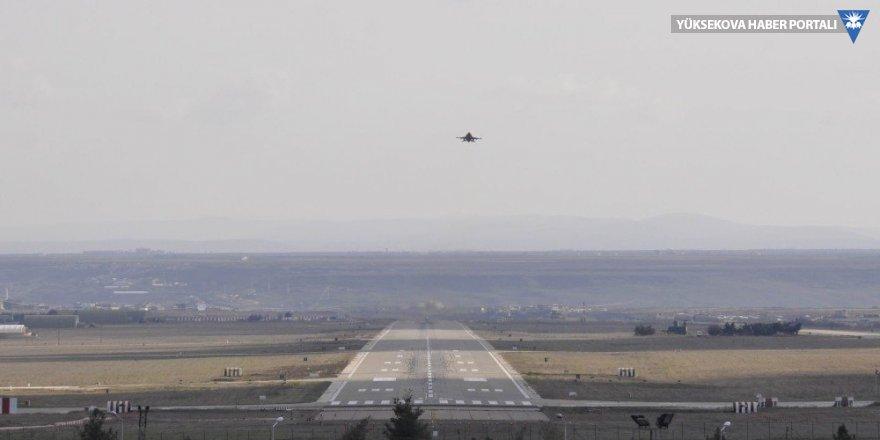 Diyarbakır'da F-16 hareketliliği