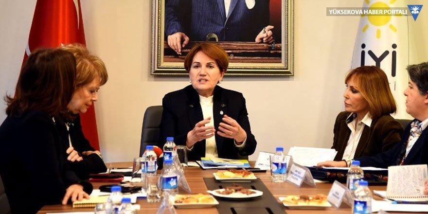 Akşener: İkinci tura CHP kalırsa Erdoğan HDP ile anlaşır