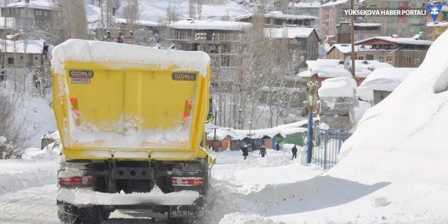 Hakkari'de 3 köy ile 8 mezra yolu ulaşıma kapandı