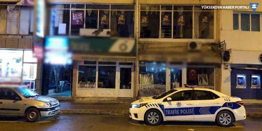HDP ilçe binasına pompalı tüfekle ateş açıldı