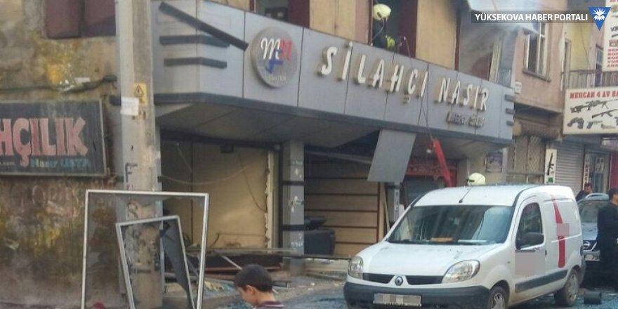 Diyarbakır'da silah dükkanında patlama