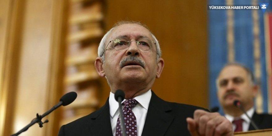 Kılıçdaroğlu'ndan Suriye saldırısı açıklaması: Sorunu 4 bölge ülkesi çözmeli