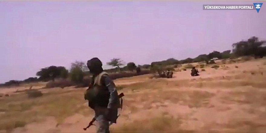 IŞİD, ABD askerinin kamerasından çatışmayı yayınladı