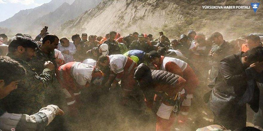 İran basını kaza bölgesinden ilk fotoğrafları geçti
