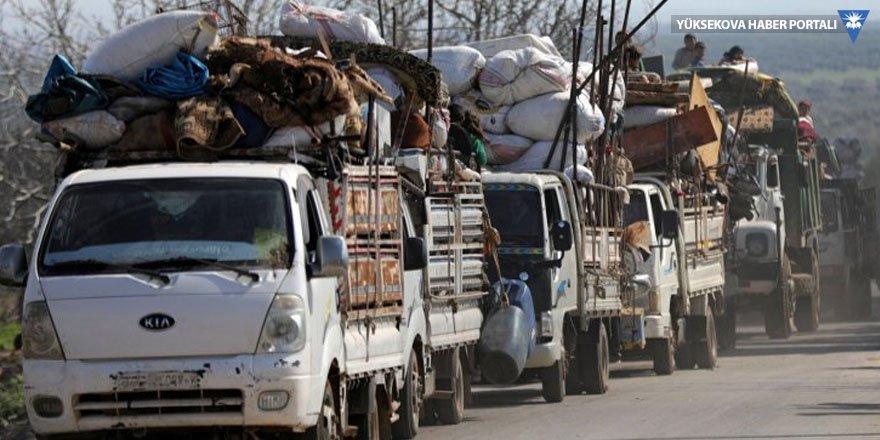 AFP: 30 bin sivil Afrin'i terk etti