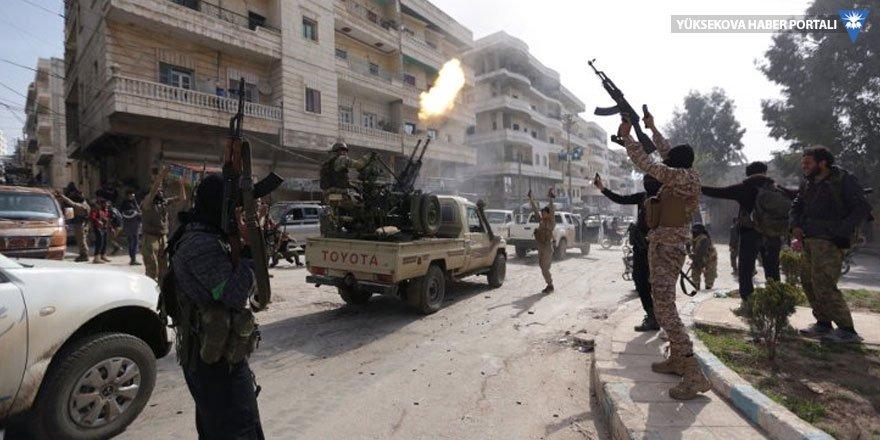 Afrin'de ÖSO'cular yağma yüzünden çatıştı