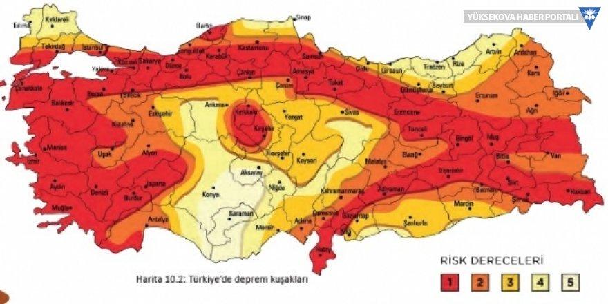 'Türkiye Deprem Tehlike Haritası' 22 yıl sonra ilk kez güncellendi