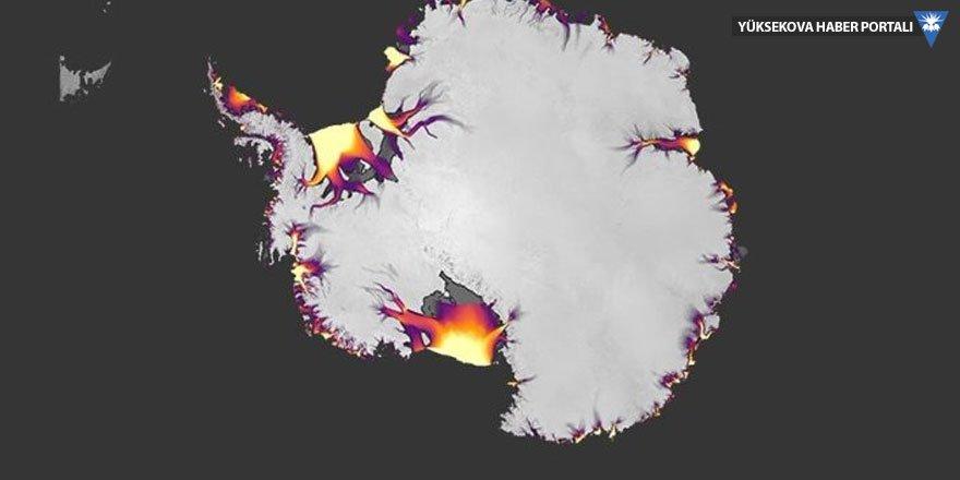 NASA'dan küresel ısınma görüntüleri