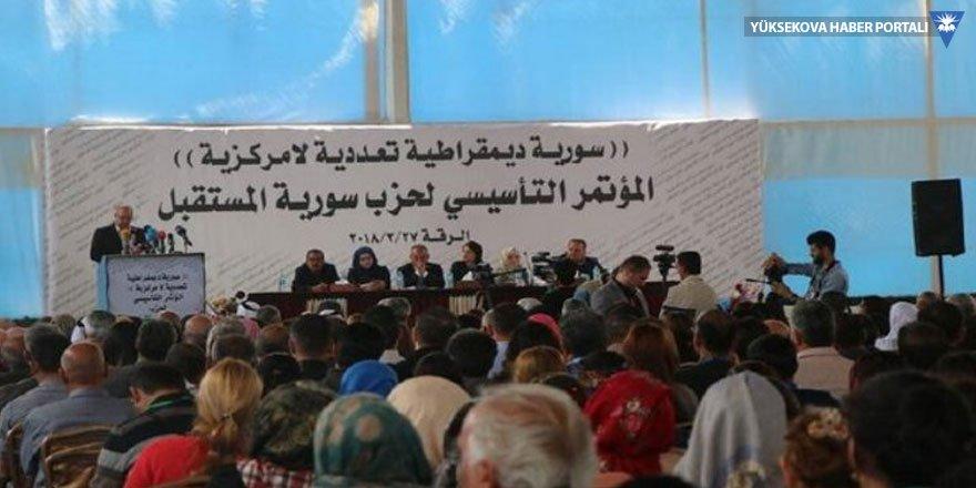 SDG Rakka'da yeni parti kurdu