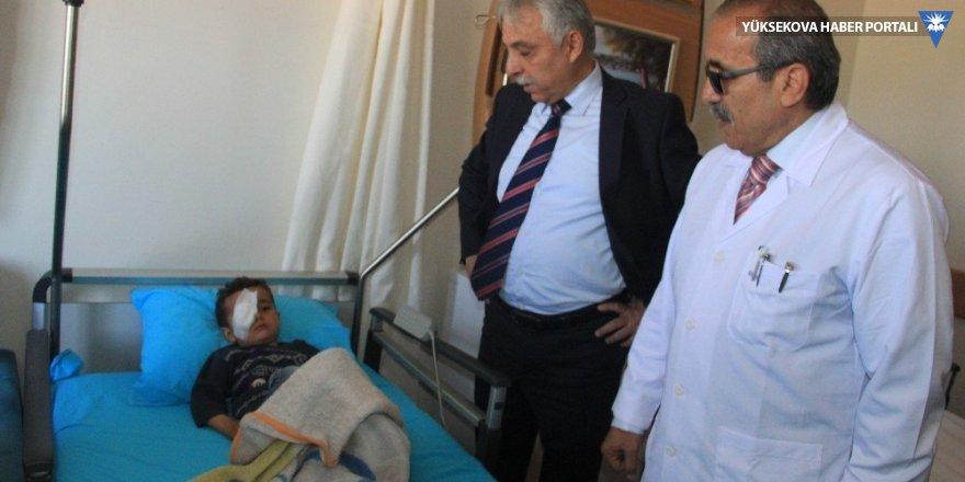 Çukurca'da ilk göz ameliyatı yapıldı