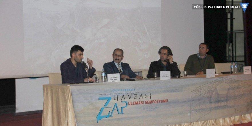 """Hakkari'de """"1. Uluslararası Zap Havzası Uleması"""" sempozyumu"""