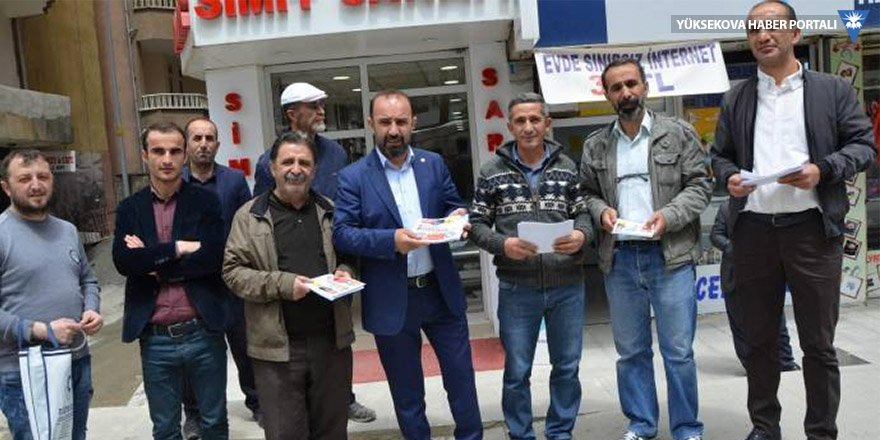 Hakkari'de 1 Mayıs kutlamasına davet