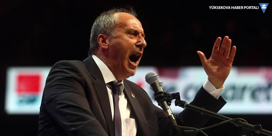 Muharrem İnce: Erdoğan'a beş ay kıdemim var
