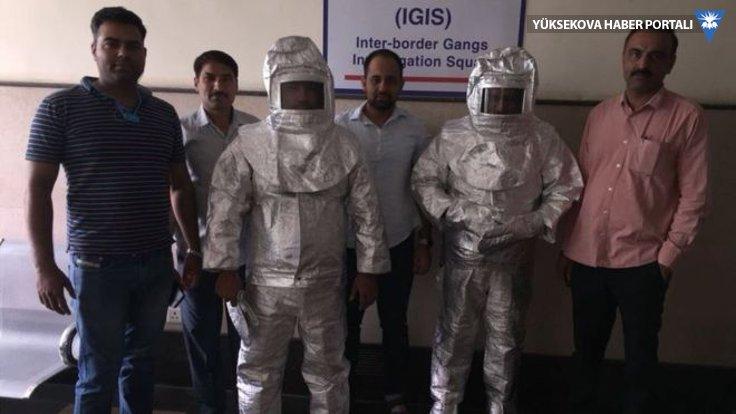 'NASA'danız' diyen dolandırıcıları polis 'astronot' yaptı!