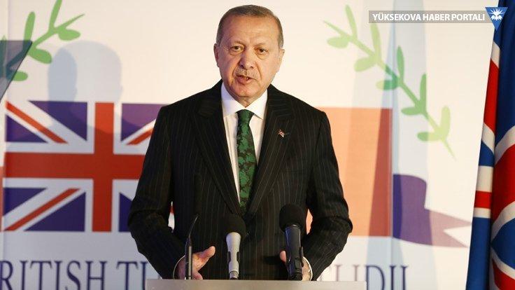 Cumhurbaşkanı Erdoğan: Birleşik Krallık'ın dayanışmasını asla unutmayacağız