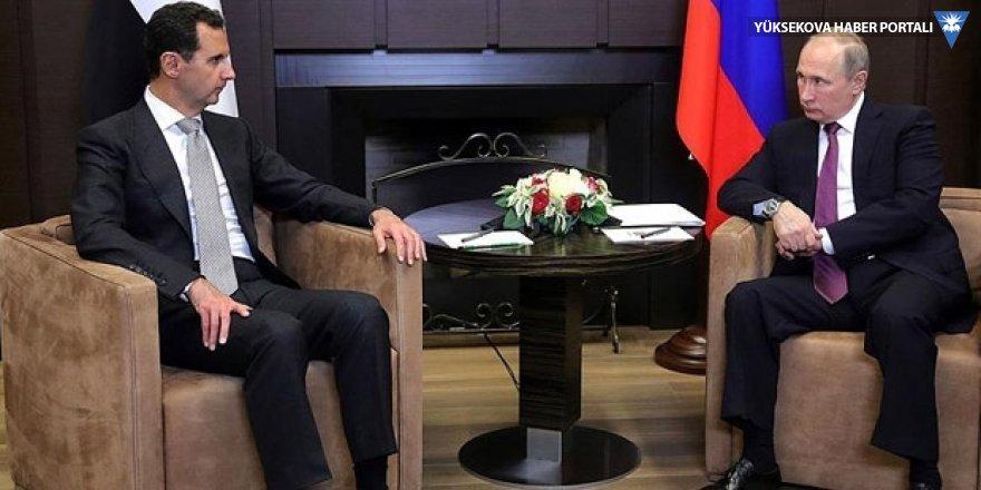 Putin: Yabancı ülkeler Suriye'den çıkmalı