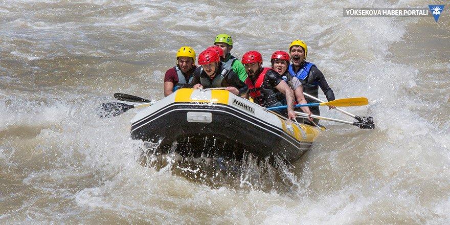 Hakkari'de rafting sporu gelişiyor: Rafting, kentin turizmine katkıda öncü rol oynayabilir