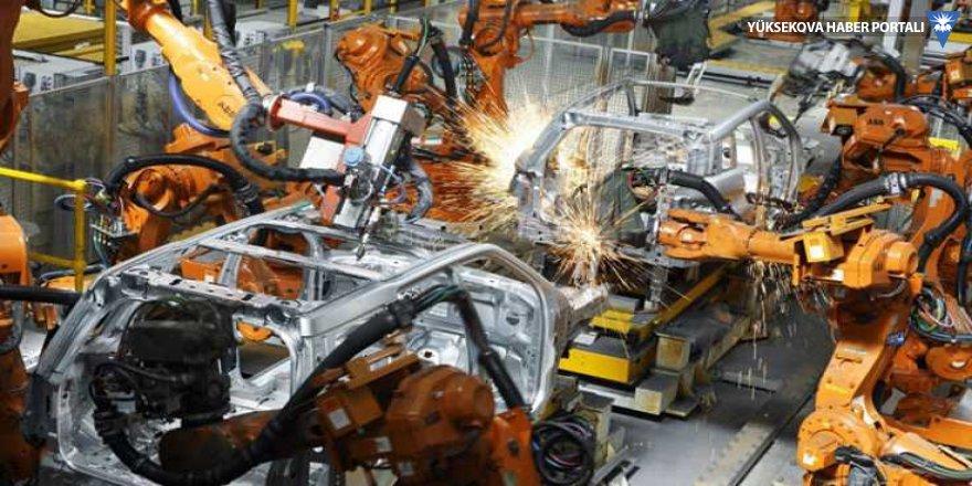 Sanayi üretimi ikinci çeyrekte hız kesti