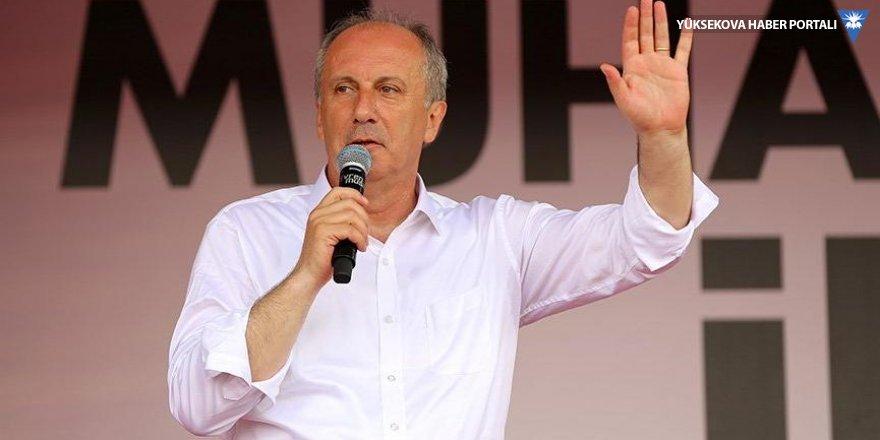 İnce'den Erdoğan'a: AK Parti'yi kurarken icazet almak için Pensilvanya'ya gittin mi?