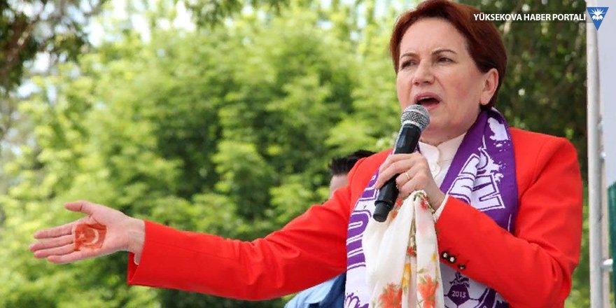Meral Akşener: Birbirine küfür eden siyasetçiler hapis yatacak