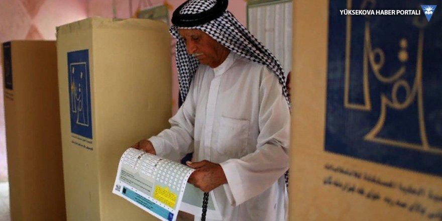 Irak'ta yurt dışı oyları iptal edildi