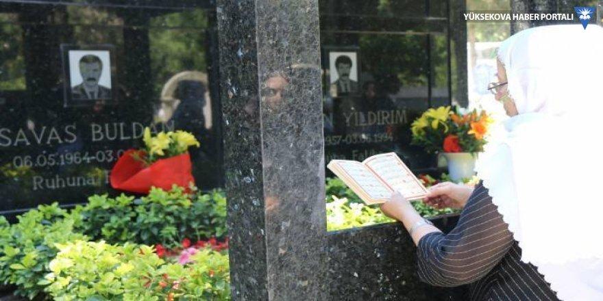 Savaş Buldan ve arkadaşları mezarı başında anıldı