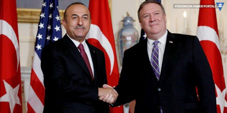 ABD: Pompeo, Çavuşoğlu'ndan Brunson'ın serbest bırakılmasını istedi