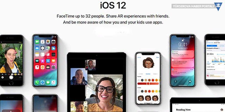 Apple İOS 12'yi duyurdu