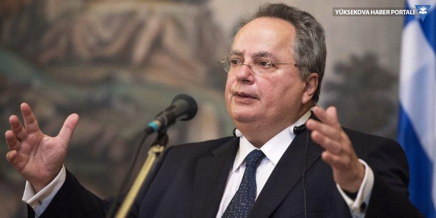 Yunanistan'dan Bozdağ'a tepki