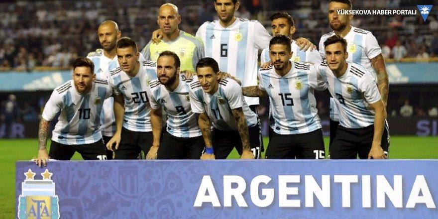 İsrail - Arjantin maçı iptal edildi